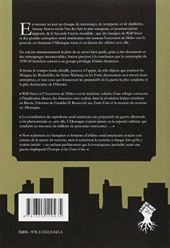 Livres Couvertures de Wall Street et l'ascension de Hitler