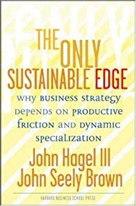 "Cover of ""The Only Sustainable Edge: Why ..."