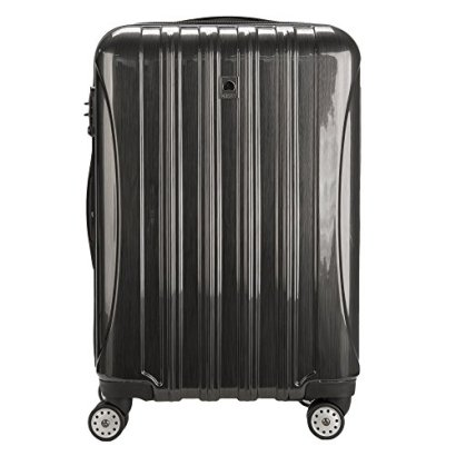 DELSEY-Paris-Helium-Aero-25-Inch-4-Wheel-Spinner-Check-In-Hardside-Luggage-Brushed-Charcoal