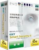 ESET Smart Security V4.0 5年1ライセンス