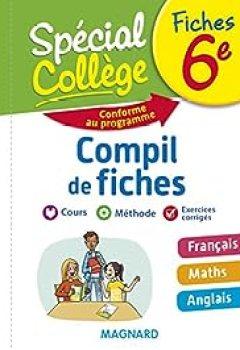 Livres Couvertures de Spécial Collège   Compil De Fiches 6e
