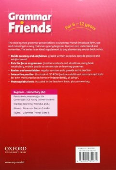 Livres Couvertures de Grammar Friends 2 : Student's Book with CD-rom Pack