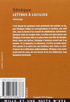Livres Couvertures de Lettres à Lucilius