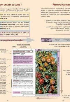 Livres Couvertures de Guide des fruits sauvages - fruits charnus