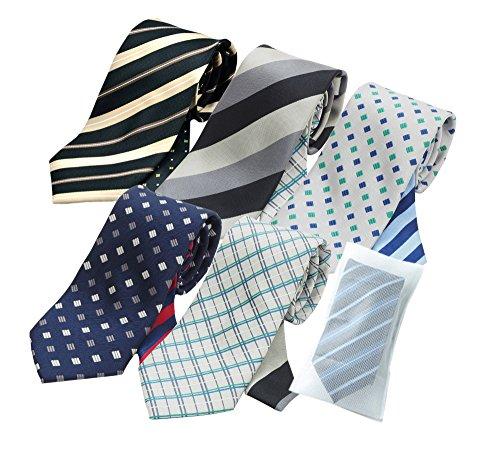 (メンズ ウーノ)men's uno ジャパンブランド ug3 クレリックネクタイ5本 セット ビジネス 洗える ウォッシャブル 洗濯ネット付き 51LZdzTdpiL