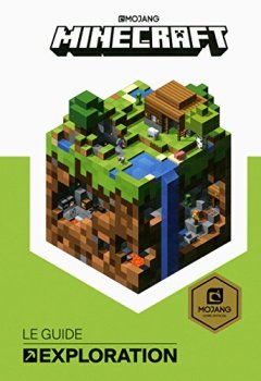 Livres Couvertures de Minecraft, le guide officiel de l'Exploration