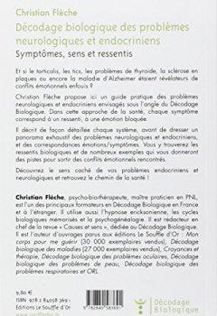 Livres Couvertures de Décodage biologique des problèmes neurologiques et endocriniens : Symptômes, sens et ressentis