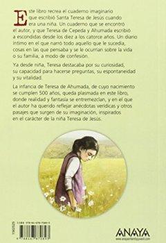 Portada del libro dePara siempre: Cuaderno secreto de la niña Teresa de Jesús (Literatura Juvenil (A Partir De 12 Años) - Leer Y Pensar-Selección)