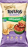 Tostitos Simply Organic Tostitos Scoops, 8 Ounce