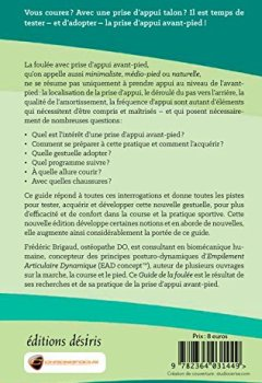 Livres Couvertures de Guide de la Foulée avec prise d'appui avant-pied - 2e édition