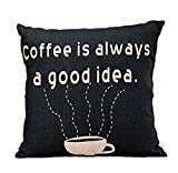 Usstore 1PC Pillow Case Cover Pillowslip Letter Distinctive Perfect Home Decor (A) review