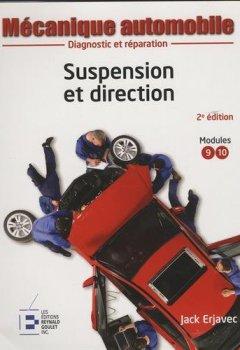 Livres Couvertures de Mécanique automobile : Suspension et direction, 2e édition