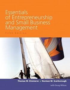 """Cover of """"Essentials of Entrepreneurship ..."""