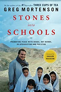 """Cover of """"Stones into Schools: Promoting ..."""