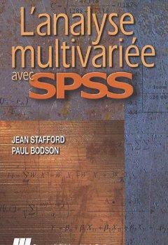 Livres Couvertures de L'analyse multivariée avec SPSS