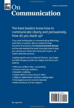 Livres Couvertures de HBR's 10 Must Reads on Communication (with featured article