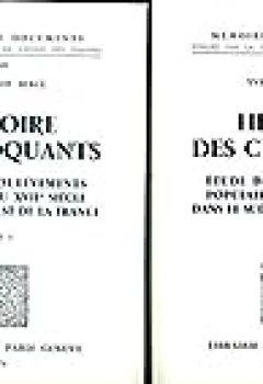 Histoire Des Croquants Tomes 1 Et 2