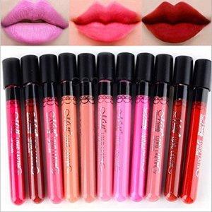 10-piezas-de-belleza-maquillaje-labios-lustre-terciopelo-mate-impermeable-cosmticos-lpiz-labial
