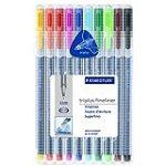 Staedtler Triplus Fineliner Pens 10 color Pack (334SB10) for $9.5 + Shipping