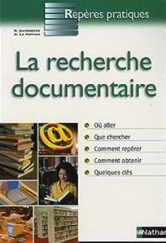 Livres Couvertures de La Recherche Documentaire
