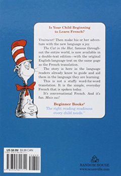 Livres Couvertures de The Cat in the Hat in English and French