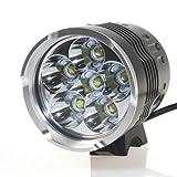 CM3 LED Scheinwerfer , 7000 lumen, 6x CREE XM-L T6 Fahrradlampe, inkl. 16000 mah Akku, CM3-LED-015