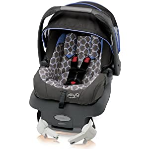 Evenflo Serenade Infant Car Seat, Honeycomb Baja