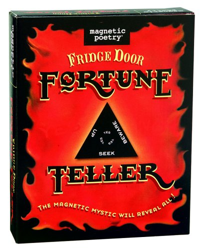 Magnetic Poetry Fridge Door Fortune Teller