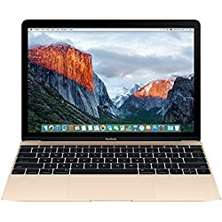 Apple MacBook MLHE2LL/A 12-Inch Laptop with Retina Display (Gold, 256 GB) NEWEST VERSION