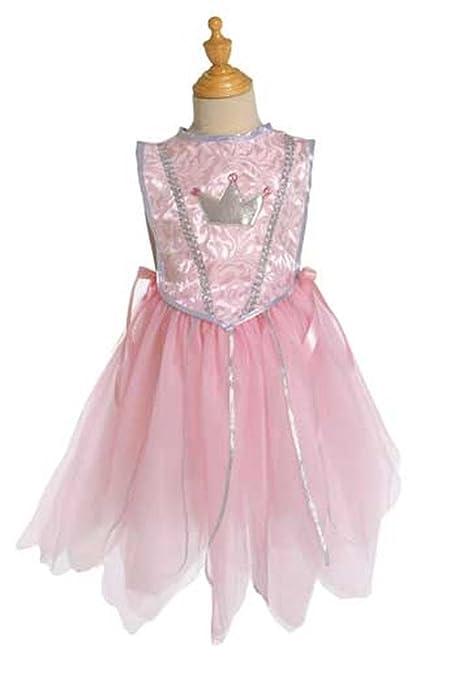 Creative Education Pink Princess Tunic Tiara Girls M 5-6 NWT Costume Dress