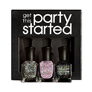 Deborah Lippmann Nail Lacquer, Get This Party Started, 11.2 Ounce