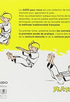 Livres Couvertures de Judo pour nous : ceinture blanche, ceinture jaune