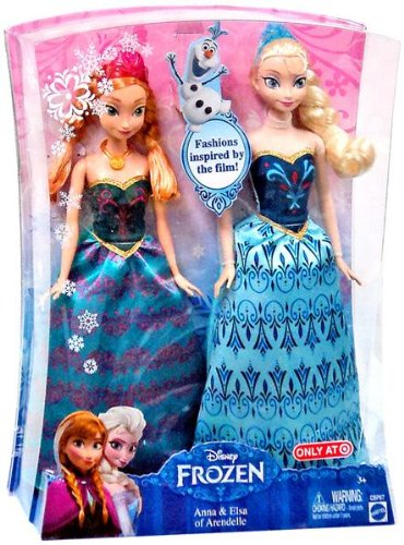 Disney Frozen Dolls Elsa Anna Kristoff and Olaf