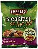 Emerald Breakfast On The Go - Berry Nut Blend (Case of 8)1.5oz each NET WT 12oz