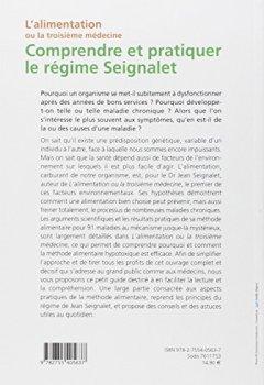 Livres Couvertures de Comprendre et pratiquer le régime Seignalet: L'alimentation ou la troisième médecine