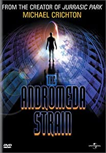 """Cover of """"The Andromeda Strain"""""""