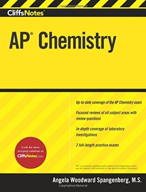 CliffsNotes AP Chemistry by Angela Woodward Spangenberg | Featured Book of the Day | wearewordnerds.com