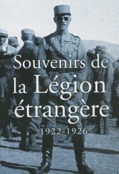 Livres Couvertures de Souvenirs de la Légion