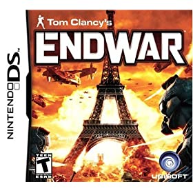 Tom Clancy's EndWar for the Nintendo DS.