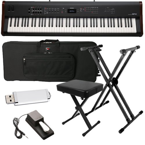 Kawai MP6 Stage Piano BUNDLE w/ Keyboard Carrying Bag, Stand & Bench