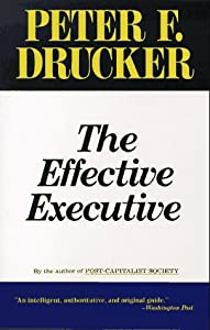 "Cover of ""The Effective Executive"""