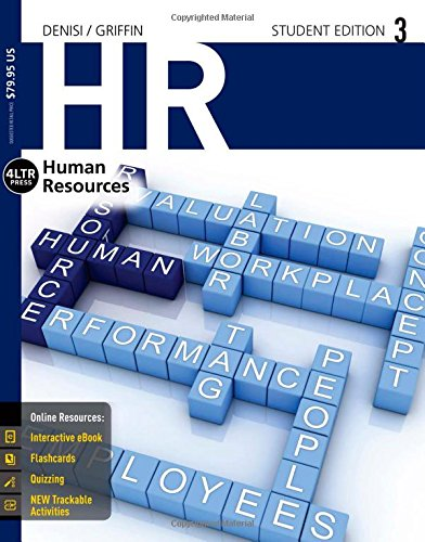 1285867572 – HR3 (with CourseMate, 1 term (6 months) Printed Access Card) (New, Engaging Titles from 4LTR Press)