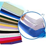 Kasai Uv Protection Sports Driving Golf Bycle Basketball Cooling Arm Sleeves Cooling Cool Cover Sun Uv 99.9% 1pair Black White Blue Red Pink