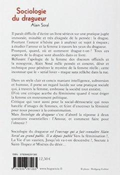 Livres Couvertures de SOCIOLOGIE DU DRAGUEUR