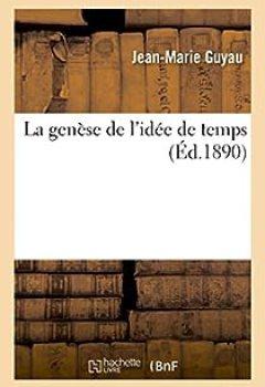 Livres Couvertures de La Genèse De L'idée De Temps