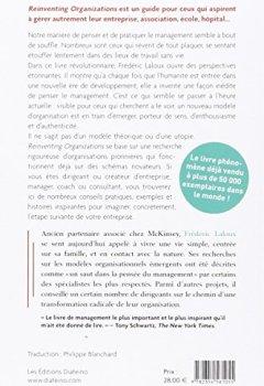 Livres Couvertures de Reinventing organizations : Vers des communautés de travail inspirées