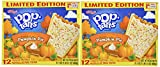 Kellogg's Pop-Tarts (2 PACK)-LIMITED EDITION 24 Pumpkin Pie Toaster Pastries, 2 BOXES (Each Box Contains 12 Pastries) - Each Box is 21.1 oz)