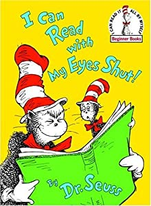 """Cover of """"I Can Read With My Eyes Shut! (..."""