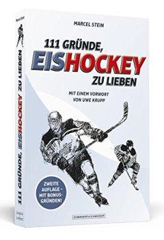 Buchdeckel von 111 Gründe, Eishockey zu lieben