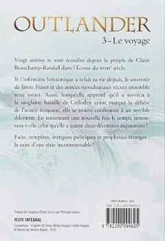 Livres Couvertures de Outlander, Tome 3 : Le voyage